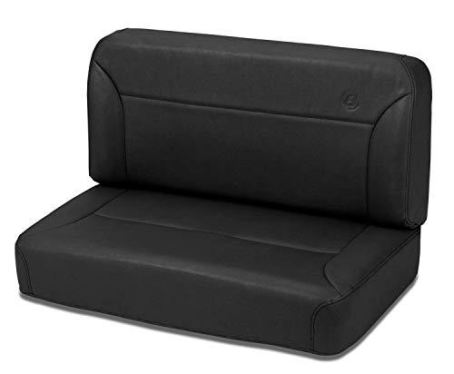 Bestop 39437-15 Bestop Trailmax II Fixed Bench Seat Rear all vinyl Seat Trailmax II Fixed Bench Seat Rear all vinyl