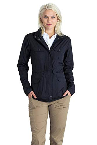 ExOfficio Women's FlyQ Jacket, Black, - City Jacket System Womens