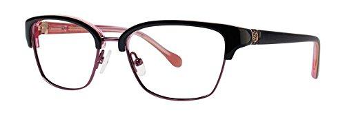 Lilly Pulitzer LEXINGTON Black Eyeglasses - Eyewear Lexington