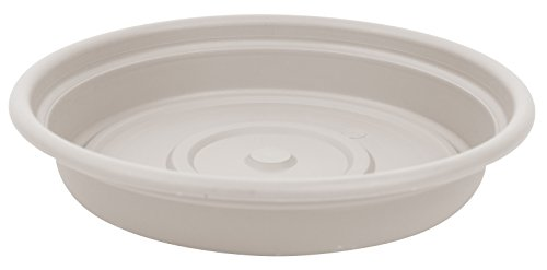 Bloem Dura Cotta Plant Saucer Tray, 12″, Taupe (SDC12-35)