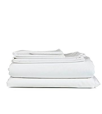 "!! Plum Brand !! Northern Night Egyptian Cotton 5-PC Split Sheet Set ( Luxur Colors ) Eco Friendly, SOLID LOOK 600TC Split Home Adjustable Sizes ( Mattress Fits 15"" Pockets )"