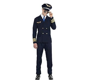 Disfraz Avión Y De MlAmazon Juegos Talla Piloto esJuguetes nw0NOvm8