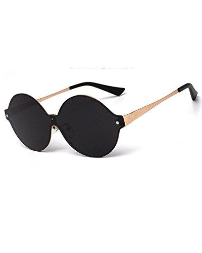Konalla Personalized Rimless One-piece Reflective Lens Unisex Eyeglasses - Eyeglasses Rimless Tortoise Shell