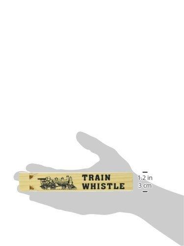 Fun Express Wooden Train Whistles - 12 Pieces