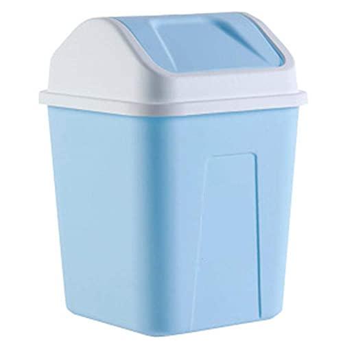 Vuilnisbak Prullenbak, huishoudelijke keuken, badkamer, toilet, afvalpapier vuilnisbak met deksel, grootte: 22* 22* 32…