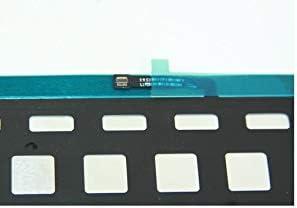 LA-Tronics Replacement Parts for MacBook Pro Retina 15 A1398 2012 US Black Keyboard Backlit Backlight 818-2704