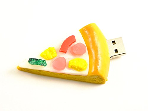 FEBNISCTE 8GB Pizza Food Snack Newly Stylish USB 2.0 Flash Drive Memory (Best Pizza Deals For Halloween)