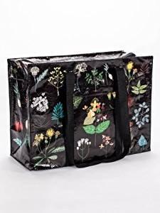 Good Recycled Shopper Tote - Blue Q Shoulder Tote Plant Study 15x11 Shopping Bag QA649