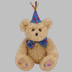 - Ty Happy Birthday - Bear