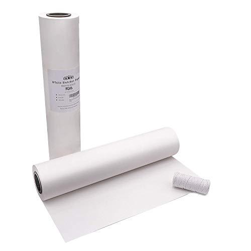 White Butcher Paper Roll - 18