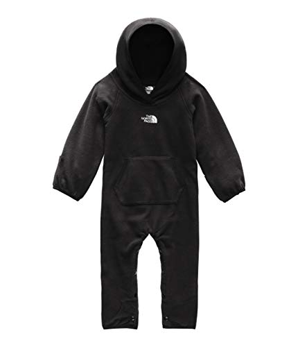 - The North Face Kids Unisex Glacier One-Piece (Infant) TNF Black 6-12 Months