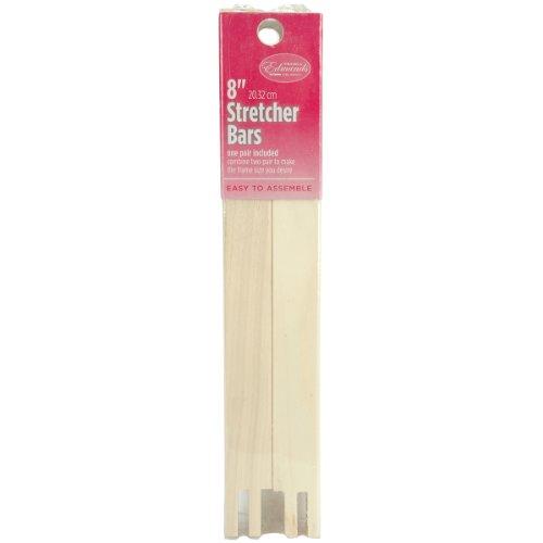 Edmunds Regular Stretcher Bars for Needle Art, 8 by 3/4-Inch