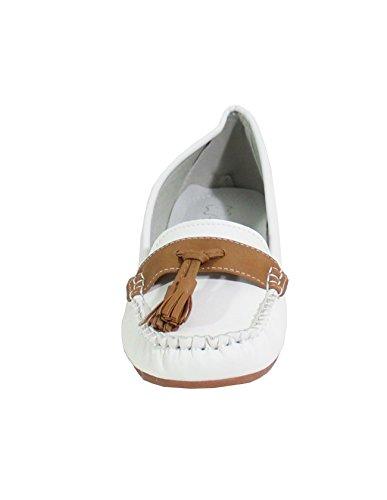 Blanco By Bailarinas Shoes Para Mujer nII1qr