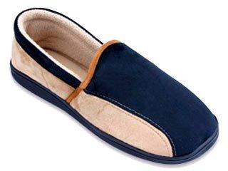 Nuove Pantofole Starbay Da Uomo In Eco-pelle Scamosciata Chiuse Disponibili In 3 Colori Nero E Beige