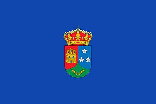 magFlags Bandera Large Municipio de Casarrubuelos Comunidad de Madrid | Bandera Paisaje | 1.35m² | 90x150cm