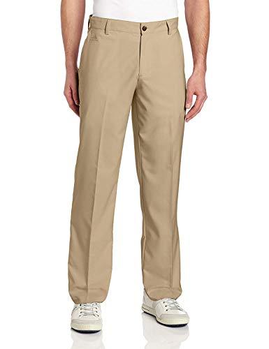 adidas Climalite 3 Stripes Tech Flat Front Pant Khaki 38 (Mens Printed City Belt)
