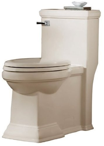 - American Standard 2847.128.222 Town Square FloWise RH Elongated One Piece Toilet, Linen