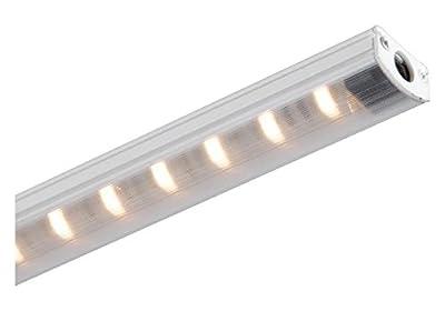 """White Straight Edge 31.25"""" Length 2700K High Output Led Under Cabinet Strip Light"""