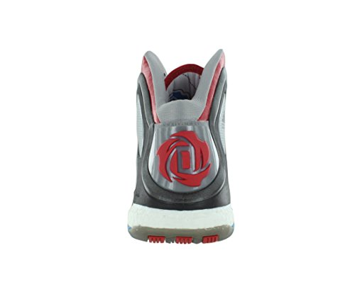 Adidas Chaussures Rose white 5 Scarlet Silver D 12 Boost Derrick Comme metallic Taille 5 rXqUcfRwry