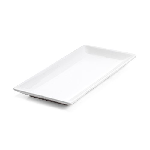 Mikasa French Countryside Sandwich Serving Tray, - Platter White Mikasa