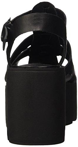 Cinturino Smith Nero Col Tacco Scarpe T Leather Con Donna Windsor A Fluffy 0Pwdxg0q