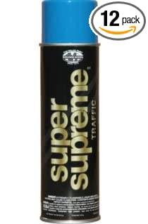 Image Unavailable Not Available For Color Fox Valley Super Supreme Traffic Blue Spray Paint