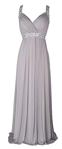 conail Coco Women's Elegant Royal Formal Dresses Wear Long Wedding Party Gowns (Medium, 30GRAY)