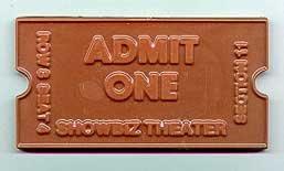 chocolate movie ticket - 1