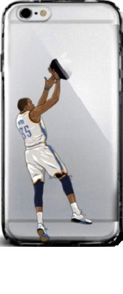 hot sale online 82018 e4970 Kevin Durant Kasekingz KD for iPhone 6 6s case number 35 mvp ...