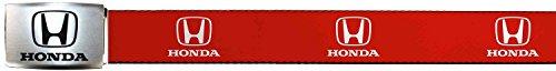honda-automobile-company-white-logo-red-web-belt