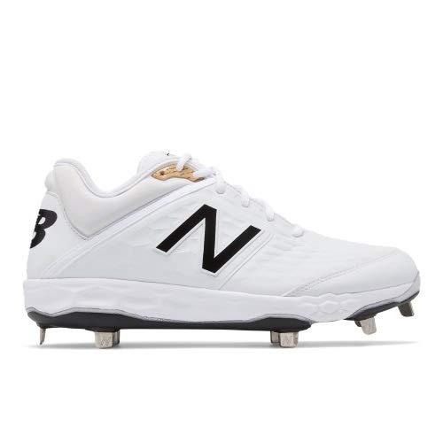 New Balance Men's 3000v4 Baseball Shoe, White, 10 D US