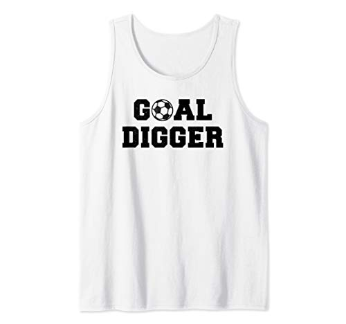 - Goal Digger Soccer Jock Tank Top