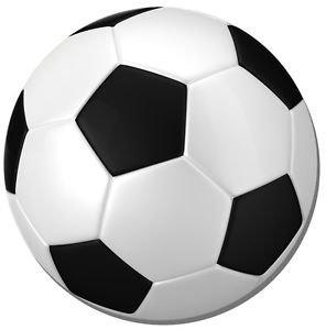 Alfombrilla de ratón fútbol redondo. Balón de fútbol ratón redonda