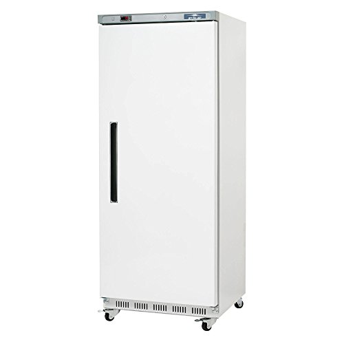 Arctic Air AWR25 White Single Door Reach in Commercial Refrigerator - 25 cu. ft.