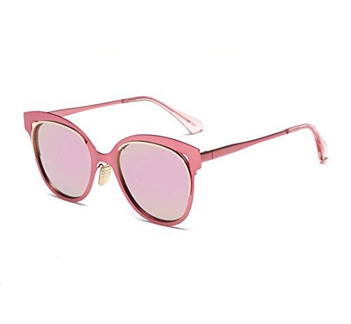 polarizador Espejo conducción Sol Material Sol Pink al Resistente Polvo de Prueba ya PC explosiones de de Prueba Gafas Agua a xwEXI1qq