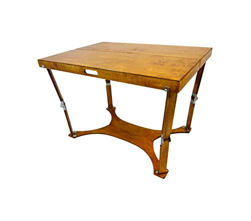 Spidеrlеgs Patio Outdoor Garden Premium Folding Picnic/Project Table, 42-Inch, Warm -
