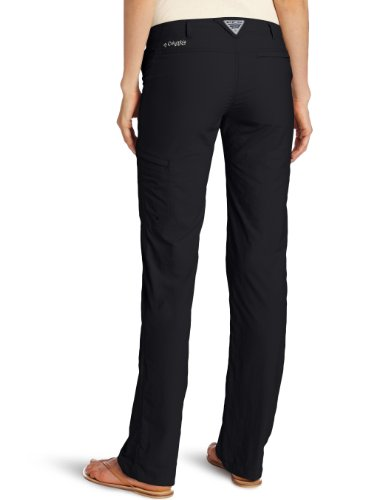 Columbia Women's Full Leg Roll-Up Aruba Pant, 12, Black by Columbia (Image #2)