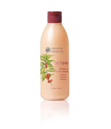 Oriental Princess 5 in 1 Fit & Firm, Shower & Bath Cream 8.45 Oz