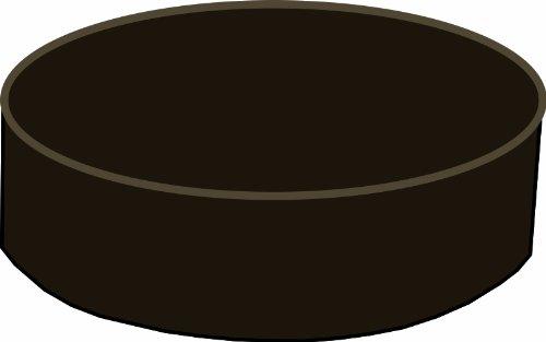 Dark Brown Slip-on Bar Stool Cover 12-15 Inch Diameter (14″ Diameter with 4″ Sideband) Review