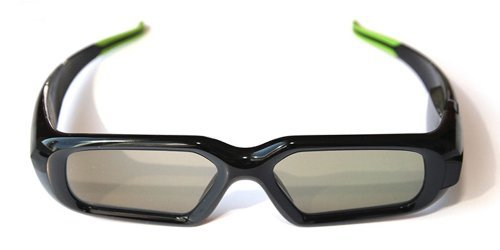 nVIDIA 3D Vision Stereoscopic Extra Pair 3D Glasses 942-10701-0101-002 942107010101002