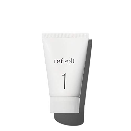 REFLEKT 1, Exfoliating Face Wash Gentle Hydrating Daily Clean Face Scrub, Facial Pore Cleanser, Collagen Hyaluronic Acid. Best Face Scrub Sensitive Skin, Dry, Oily, Acne, Anti-Aging Natural Beads 50ml