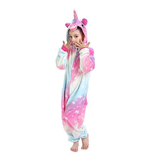 Kids Unisex Animal Onesie Unicorn Pajamas Cosplay