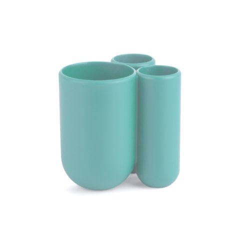 Umbra Touch Toothbrush Holder, Surf Blue - Accessories Toothbrush Holder