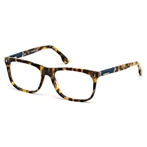 DIESEL Eyeglasses DL5157 053 Blonde Havana 54MM