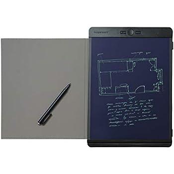 Boogie Board Black Folio Protective Cover for Blackboard, 8.5x11 Size (Board Sold Separately)