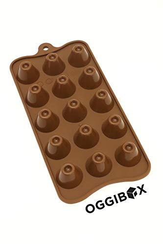 Oggibox silicone candy and gummy mold (VOLCANO)