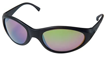 d06937296 Amazon.com: Ocean Waves Chicago Sunglasses (Black with Green Lens ...