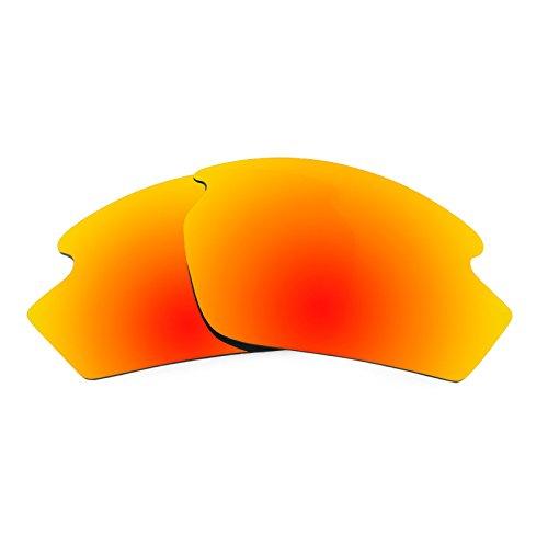 Verres de rechange pour Rudy Project Rydon — Plusieurs options Rouge Reu MirrorShield® - Polarisés