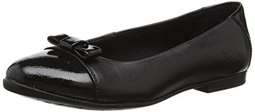 Start Rite Isla, Zapatillas de Ballet Niñas Negro (Black/Black Patent)