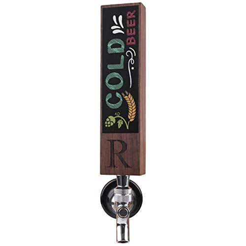 Monogrammed R Wood Beer